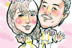 ブルーダックス サプライズ 紙芝居 結婚式余興 似顔絵