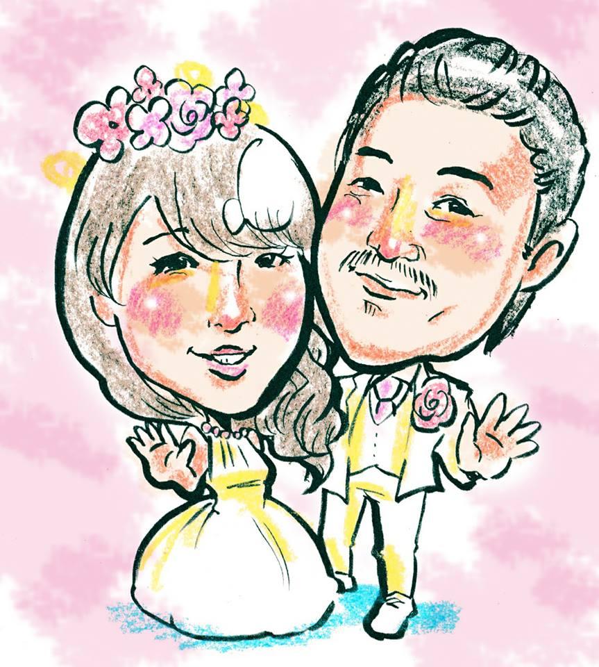 ブルーダックス サプライズ 紙芝居 結婚式余興 似顔絵 ウエルカムボード